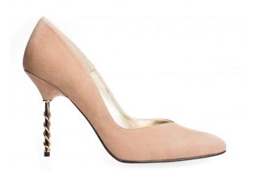 Zapato de Salón Nude Surge